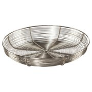 Dekoschale Ø 28 cm - Silberfarben, MODERN, Metall (28/28/5cm)
