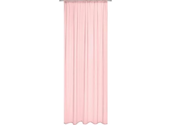 Závěs Thea - růžová, Romantický / Rustikální, textil (140/245cm) - Modern Living