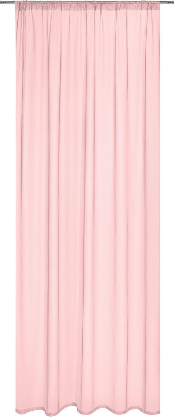 Závěs Thea - růžová, Romantický / Rustikální, textil (145cm) - Mömax modern living