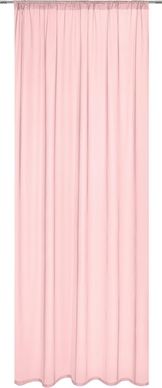 Záves Thea - ružová, Romantický / Vidiecky, textil (145cm) - Mömax modern living
