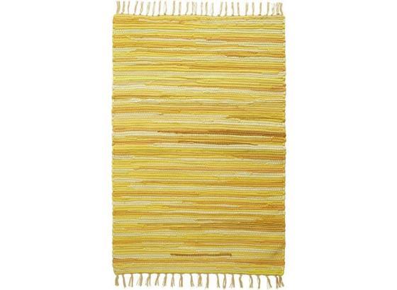Hadrový Koberec Tonal - žlutá, Lifestyle, textil (70/200cm) - Mömax modern living