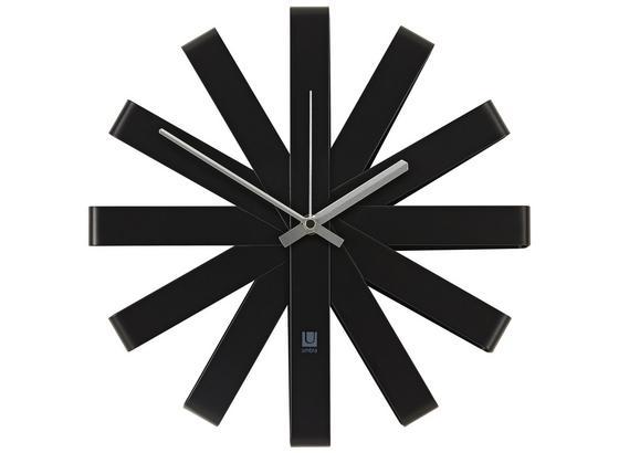 Hodiny Nástěnné Anna - černá, kov (30,48cm) - Mömax modern living