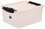 Box mit Deckel Crystal Pink ca. 15 L - Pink, KONVENTIONELL, Kunststoff (38/29/17cm) - Plast 1