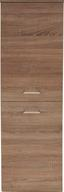 Midi Skrinka Bergamo - farby dubu, Konvenčný, drevený materiál (40/142,8/33cm)