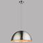 Hängeleuchte Nosy - Silberfarben, MODERN, Metall (41/120cm)