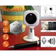 Überwachungskamera Innen/ Außen Wlan 360° Drehbar - Weiß, Design, Kunststoff (5,2/5/9cm) - Trisa Electronics