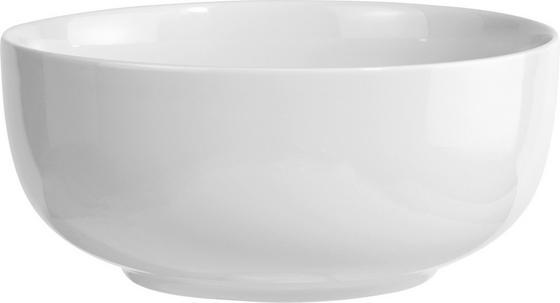 Salátástál Felicia - Fehér, konvencionális, Kerámia (21cm) - Ombra