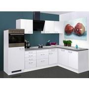 Küchenleerblock Lucca 280x170cm Weiß - Dunkelgrau/Weiß, MODERN, Holzwerkstoff (280/170cm) - MID.YOU