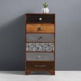 Komoda Heather - Multicolor, Moderní, dřevo (50/102/35cm) - MÖMAX modern living