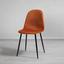 Stolička Lio - čierna/hrdzavá, Moderný, kov/drevo (43/86/55cm) - Modern Living