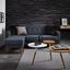 Sedacia Súprava Tamara - sivá/tmavomodrá, Moderný, drevo/textil (197/136cm) - Modern Living