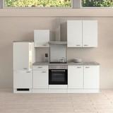Küchenleerblock Wito 270cm Weiß - Weiß, KONVENTIONELL, Holzwerkstoff (270cm) - MID.YOU
