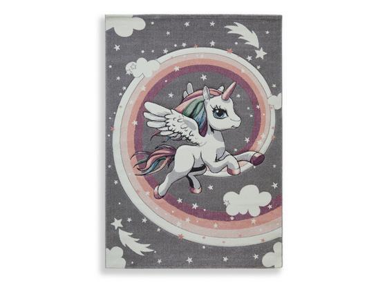 Kinderteppich Fluffy 120x170 cm - Basics, Textil (120/170cm) - Luca Bessoni