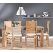 Stolička Industry - prírodné farby, drevo (45/100/52cm) - James Wood