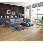 Wohnlandschaft In L-Form Carisma 300x210 cm - Schwarz/Grau, MODERN, Holz/Textil (300/210cm) - Ombra