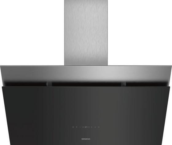 Digestor Lc98kpp60 - čierna/farby nerezovej ocele, Moderný, kov/sklo (90cm) - Siemens