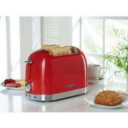 Toaster Al T2.2 Fr Rot 850w 220-240v - Rot, MODERN, Metall (32/21/17cm) - Schneider