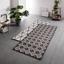 Koberec Tkaný Na Plocho Phoenix 2 - barvy stříbra/antracitová, Moderní, textil (80/200cm) - Modern Living