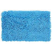 Badematte Rosella - Hellblau, MODERN, Textil (50/80cm) - LUCA BESSONI