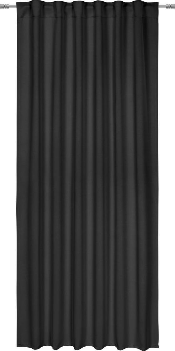 Zatemňovací Záves Riccardo - čierna, Moderný, textil (140/245cm) - Premium Living