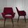 Stolička Valentine - čierna/červená, Moderný, kov/drevo (66/92/62cm) - Modern Living