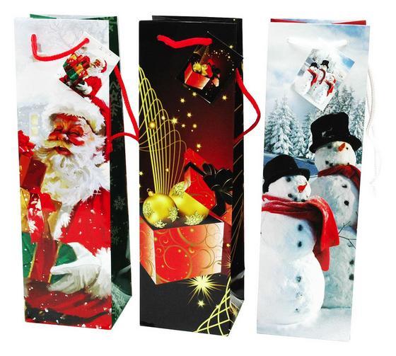 Geschenktasche Weihnachten - Papier (10/33/9cm)
