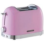 Toaster AL T2.2 SP Pink 850W 220-240V - Pink, MODERN, Metall (32/21/17cm) - Schneider