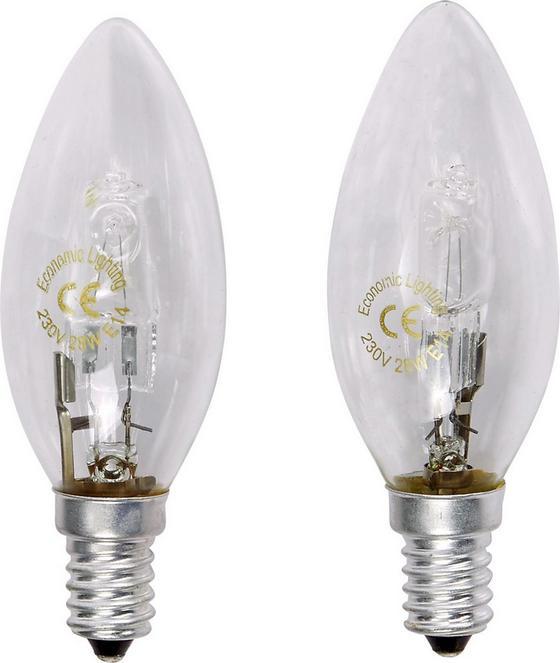 Leuchtmittel Doppelpack - Klar, KONVENTIONELL (3,5/10cm)