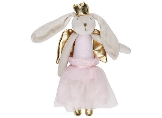 Zvířátko Plyšové Bunny - růžová, textil (36cm) - Mömax modern living