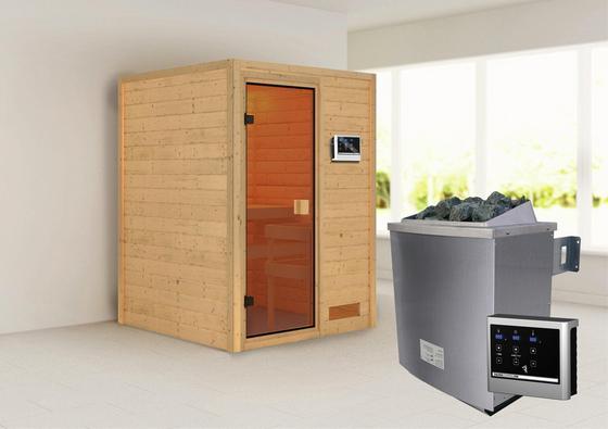 Sauna für daheim mit integrierter Steuerung