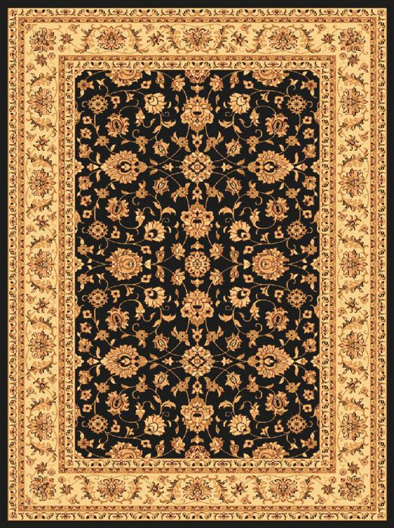 Webteppich Bellagio 120x170 cm - Creme/Schwarz, KONVENTIONELL, Textil (120/170cm) - James Wood