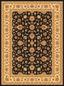 Webteppich Bellagio 120x170 cm - Creme/Schwarz, KONVENTIONELL, Textil (120/170cm) - James Wood