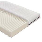 Komfortschaummatratze Flex H3 90x200 - Weiß, MODERN, Textil (200/90cm)