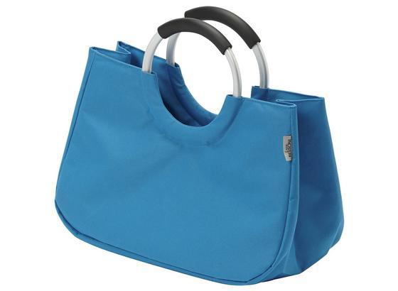 Einkaufstasche Wanda - Blau, Kunststoff (52/41/21cm) - Luca Bessoni