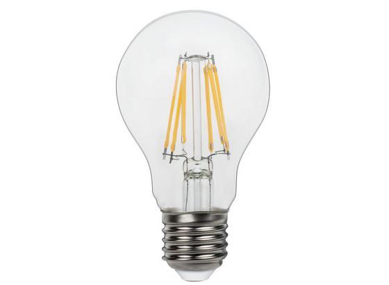 Led Žiarovka 10582-2k - číra, kov/sklo (6/11cm)