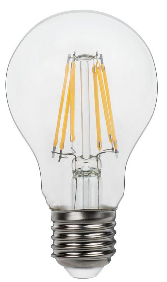 Led Žiarovka 10582-2k - číre, kov/sklo (6/11cm)