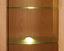Glasbodenbeleuchtungs-Set Universal, 1-fach - Alufarben, MODERN, Kunststoff/Metall