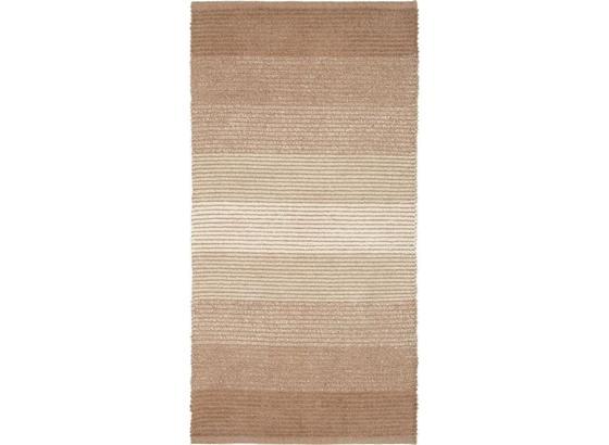Plátaný Koberec Malto - béžová, Moderný, textil (70/140cm) - Mömax modern living