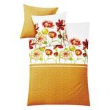 Makosatin Bettwäsche Amarillo - Orange, MODERN, Textil - KLEINE WOLKE