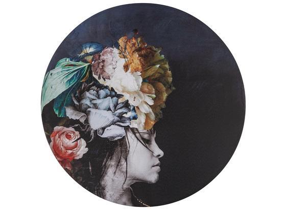 Obraz S Napínacím Rámem Staisy - černá/vícebarevná, kov/textil (60cm) - Mömax modern living