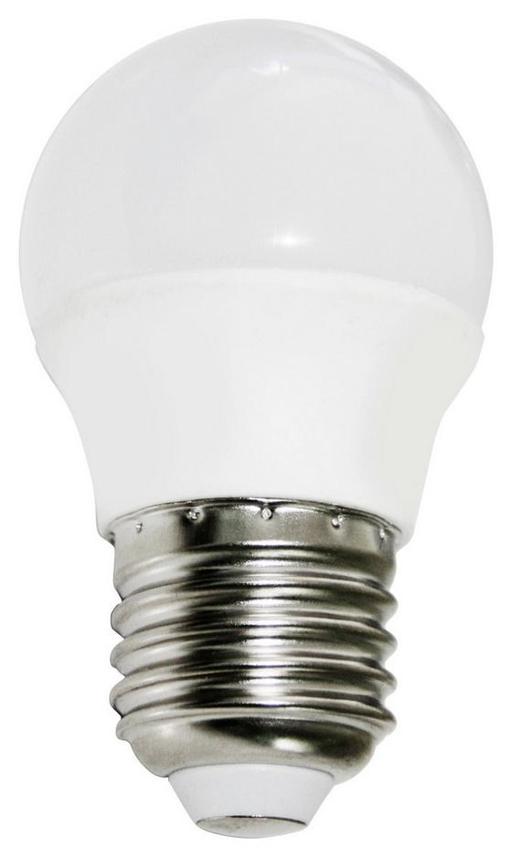 LED-Leuchtmittel Bennet,500 ml, E27,a+ - Weiß, KONVENTIONELL, Glas/Metall (4,5/7,7cm)
