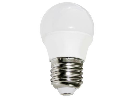 LED-Leuchtmittel Bennet,500 ml, E27,a+ - Weiß, KONVENTIONELL, Glas/Metall (4,5/7,7cm)