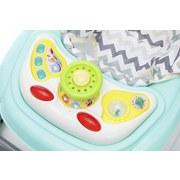 Lauflernwagen Baby Walker Space Mint - Mintgrün, Basics, Kunststoff (65/62/60cm) - Fillikid