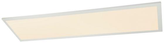 LED-Deckenleuchte Fila - Opal/Weiß, MODERN, Kunststoff/Metall (120/30/5,3cm)