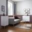 Komoda Valentina - biela/farby pínie, Moderný, drevo (50/90/32cm) - Modern Living