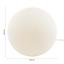 Stolová Lampa Balla - biela, sklo (25cm) - Mömax modern living