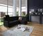 Wohnlandschaft in L-Form Sonoma 246x176 cm - Chromfarben/Schwarz, MODERN, Textil (246/176cm) - Ombra