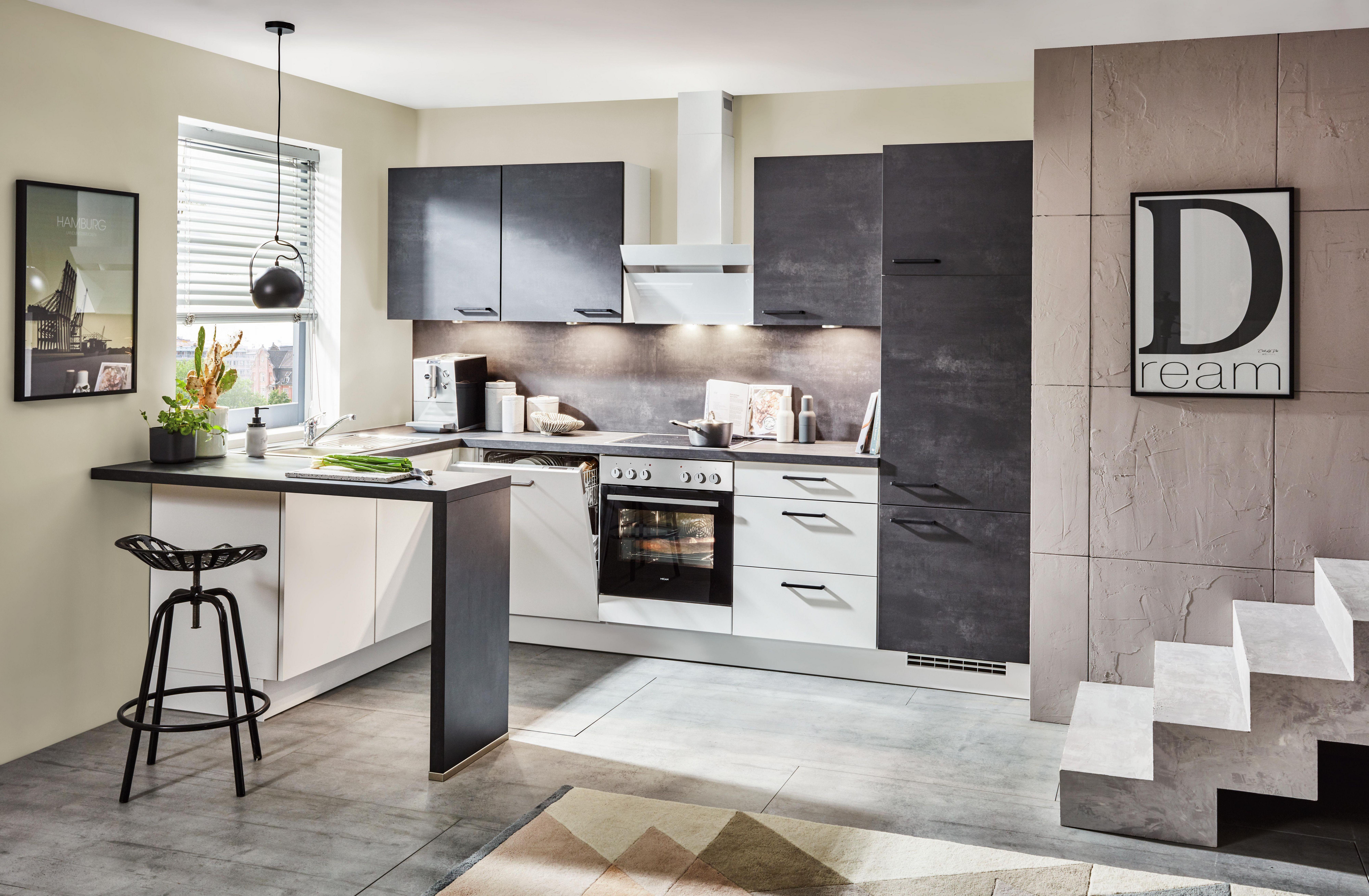 Vestavná Kuchyň Santiago - Basics (165/295cm)
