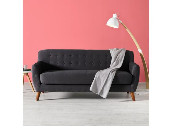 Pohovka Xavier - tmavě šedá, dřevo/textilie (176/81/76cm) - Mömax modern living