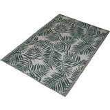 Outdoorteppich Blatt - Grün, MODERN, Kunststoff (120/180cm)